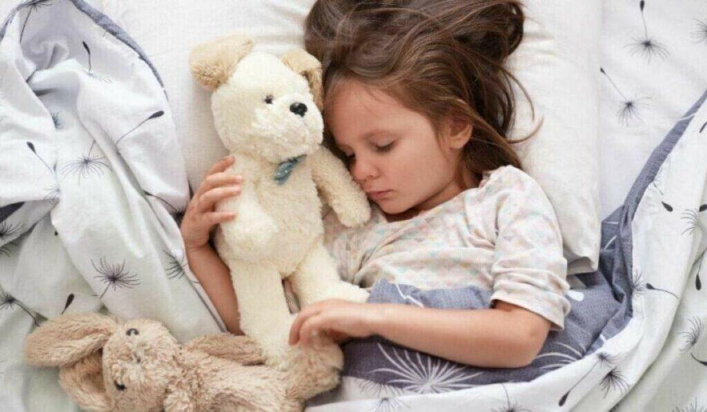 lugar de criança dormir